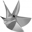 PRO FINISH 5 BLADE CNC CLEAVER