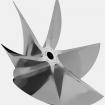 PRO FINISH 6 BLADE CNC CLEAVER